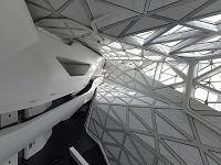Architect Name: CHRISTIAN RICHTERSCountry: China Town: GuangzhouPhotographer: CHRISTIAN RICHTERSOpera House, Guangzhou, China,  Opera House Zaha Hadid Guangzhou 2010 China