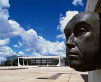 世界遺産:ブラジリア 設計: オスカー・ニーマイヤー( 1907年- ) 国籍: ブラジルの建築家  年代: 20世紀