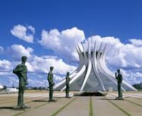 世界遺産:ブラジリア 設計: オスカー・ニーマイヤー( 1907年 ) 国籍: ブラジルの建築家  年代: 20世紀