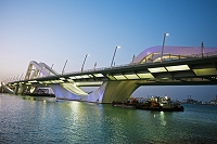 Sheikh Zayed Bridge Abu Dhabi United Arab Emirates Middle East