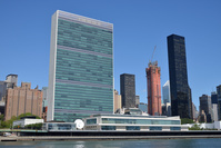 DDJJDC United Nations Headquarters, Manhattan, New York City, New York, USA