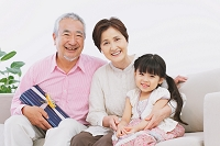 孫と祖父母