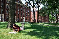 アメリカ合衆国 ハーバード大学キャンパス