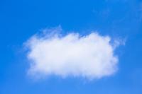 コピースペースのある青空と雲
