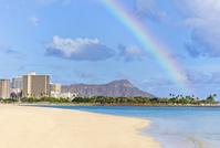 ハワイ ホノルル ワイキキビーチとダイアモンドヘッド