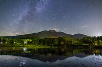 新潟県 天の川といもり池
