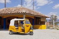 メキシコ オアハカ 三輪自動車