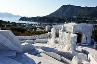 広島県 耕三寺未来心の丘から見た瀬戸内海
