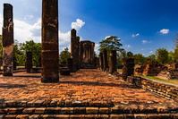 タイ スコータイ 古代遺跡