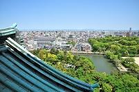 名古屋城より北を見る