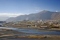 チベット ラサ 街並み