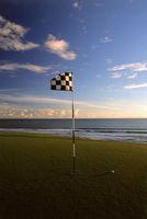 ニルワーナ・バリ・ゴルフクラブ 13番ホール、337ヤード、パー4
