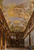 チェコ プラハ ストラホフ修道院 図書館
