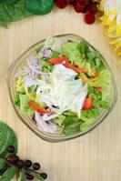 玉ねぎヨーグルトサラダ