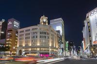 東京都 銀座 夜景