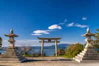 兵庫県 伊和都比売神社の鳥居