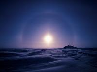 アメリカ合衆国 北極圏アイスレインボー 零下50℃の世界