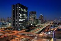 東京都 お台場の交差点