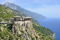 ギリシャ アトス山とシモノペトロス修道院