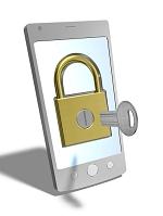 携帯電話のロック