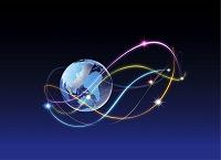 ネットワークの光と地球