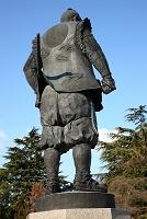 大阪府 豊國神社の豊臣秀吉公像