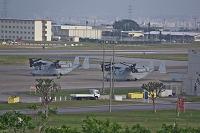 沖縄県 宜野湾市 住宅地に隣接するアメリカ軍基地