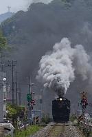 岩手県 被災地を走るSL