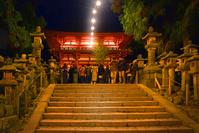 奈良県 奈良市 春日大社 夜景
