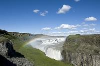 アイスランド グトルフォスの滝