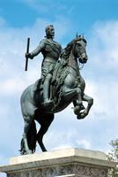スペイン マドリード 王宮 フェリペ4世騎馬像