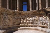 サブラータ/円形劇場のローマとサブラタの融合を描いたレリーフ