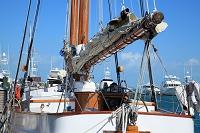 アメリカ合衆国 フロリダ 停泊中の帆船