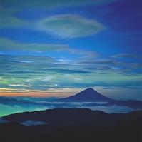 富士山 山梨県南アルプス市 南アルプス 北岳より