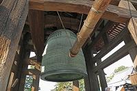 奈良県 東大寺の鐘楼と梵鐘