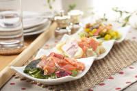 朝の食卓 三種のサラダ