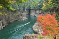 奈良県 瀞峡と船