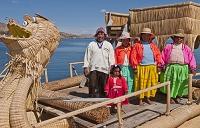 ペルー チチカカ湖 ドラゴンボート
