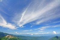 岐阜県 独標から焼岳と雲