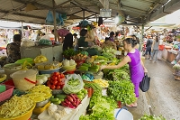 ベトナム ホーチミン タイビン市場