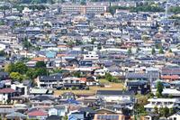 神奈川県 秦野市の街並