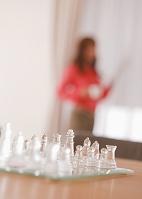 ガラスのチェス