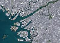衛星写真 大阪