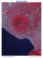 ベスビオス火山 イタリア カンパニア州 ナポリ東部