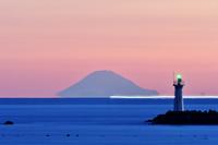 伊勢志摩 安乗(あのり)から見る洋上の富士山