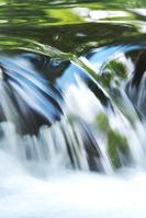 北海道 ふきだし公園 水の流れ
