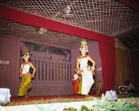 カンボジア アプサラの踊り