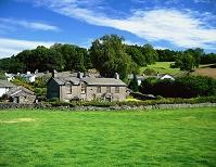 イギリス・湖水地方 ヒル・トップのあるニア・ソーリー村