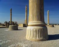 イラン アパダーナの石柱