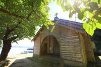 長崎県 久賀島の集落 旧五輪教会堂